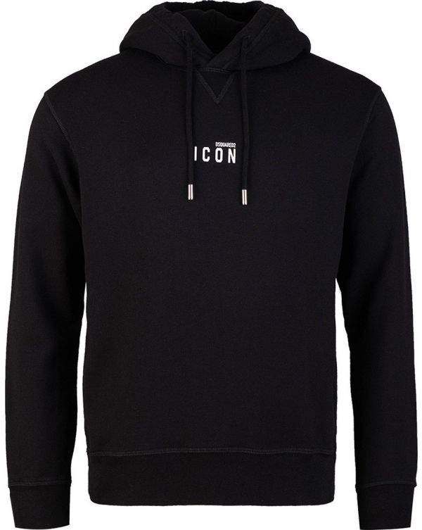 Small Icon Pop Over Hooded Top