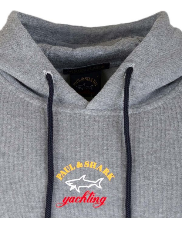 Small Centre Logo Popover Hooded Top