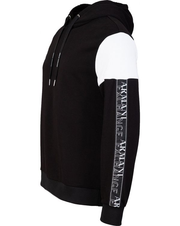 Taped Pop Over Hooded Top