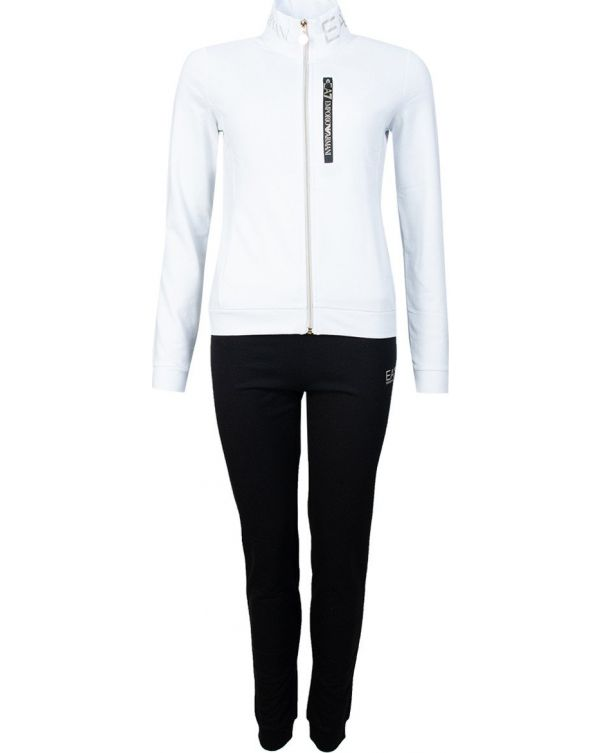 Funnel Neck Zip Through Tracksuit