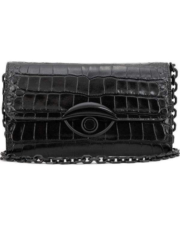 Chained Embossed Wallet