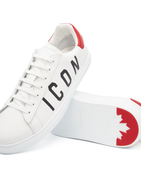 Icon Leather Tennis Sneakers