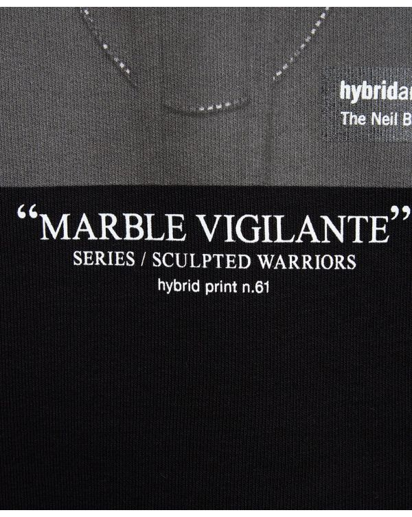 Sculpted Warriors Marble Hooded Sweat