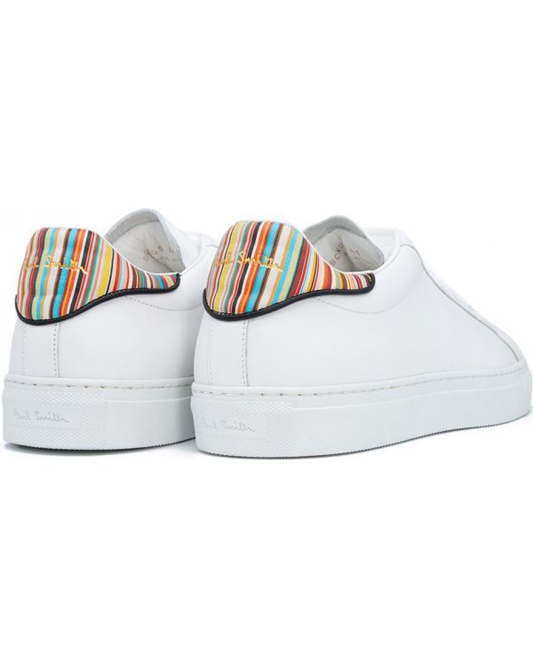 Beck Multi Stripe Leather Trainers