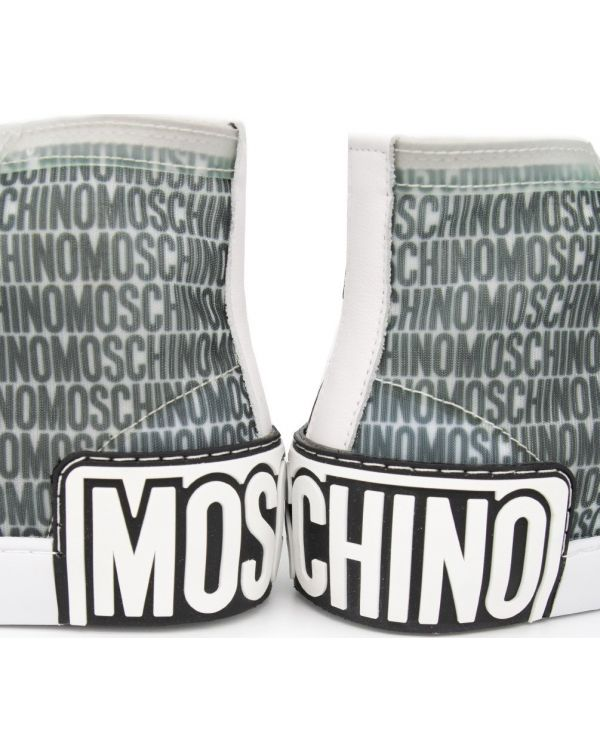 Lost And Found Printed Mesh High Tops