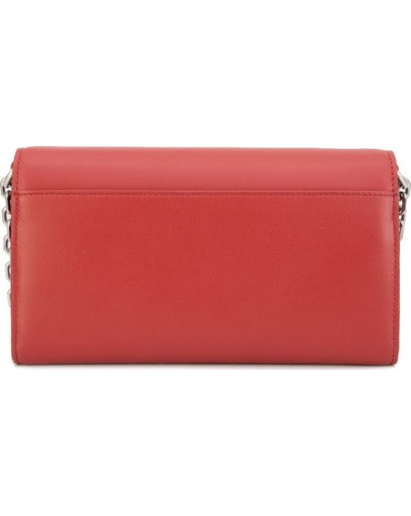 Chained Smooth Calf Wallet