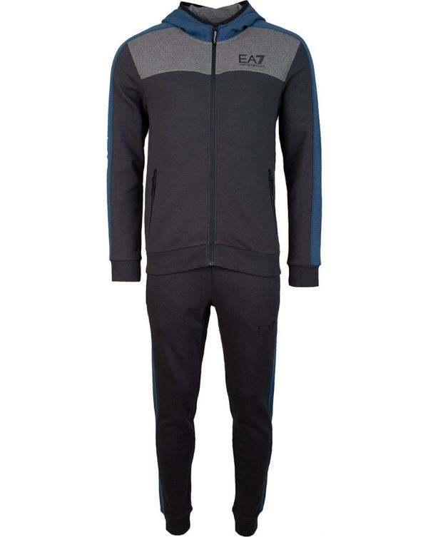 Urban Colourblock Hooded Tracksuit