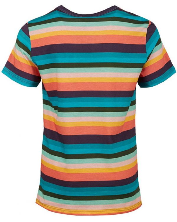 Terence Multi Striped Logo Patch T-shirt