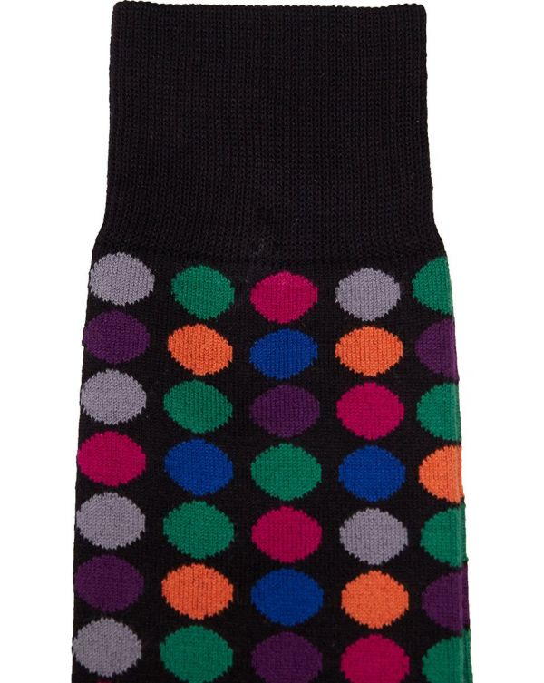 Multi Polka Socks