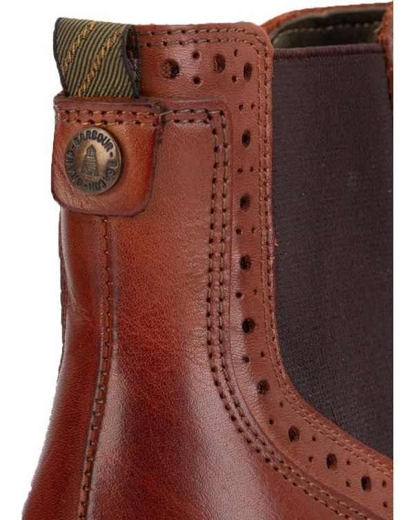 Florence Brogue Chelsea Boots