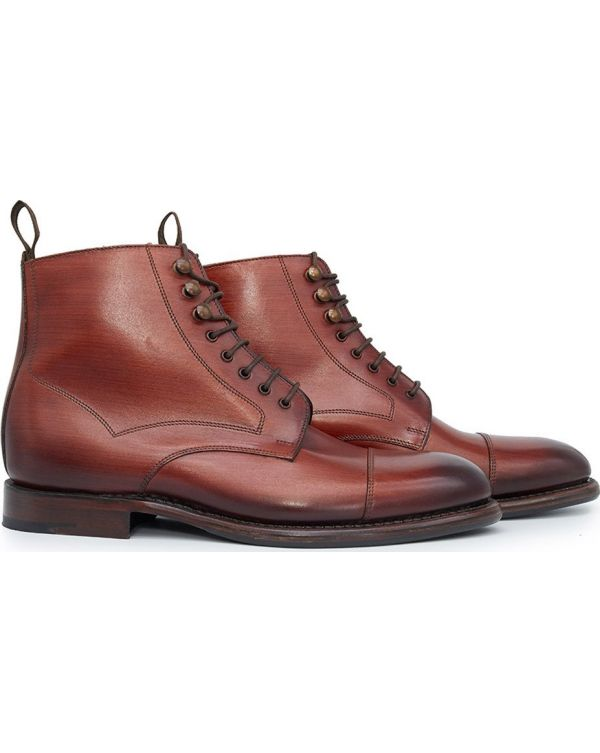 Hirst Toe Cap Leather Boots