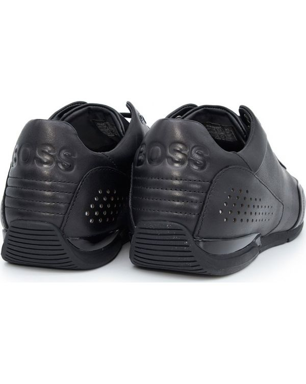 Saturn Smooth Leather Trainers