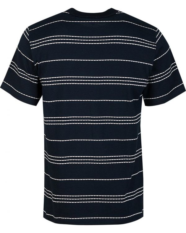 Short Sleeved Wide Stripe T-Shirt