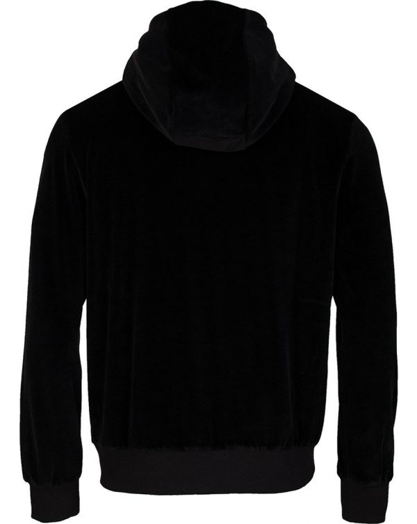 Artists Stripe Velour Hooded Top