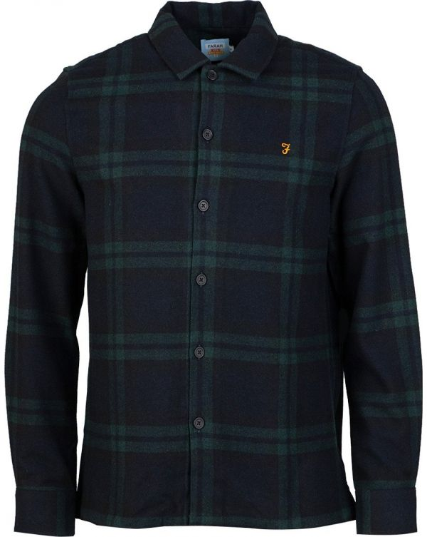 Drummond Checked Flannel Over Shirt