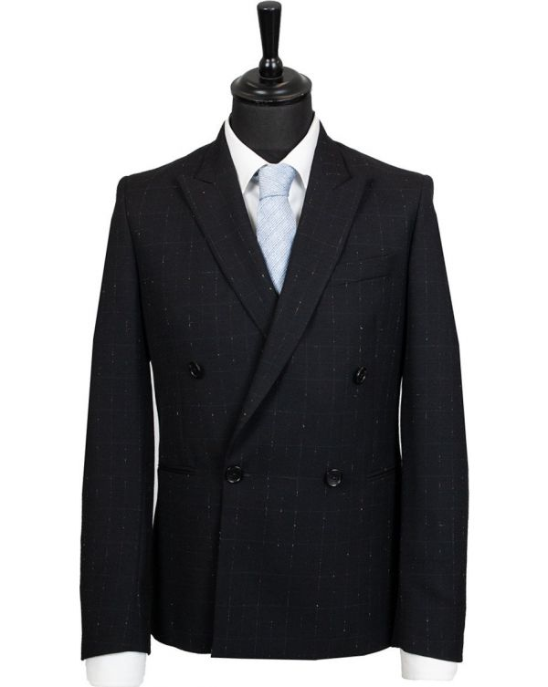 Double Breasted Slim Fit Blazer