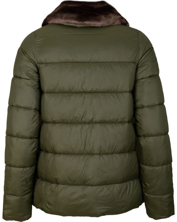 Mullein Quilted Funnel Collar Jacket