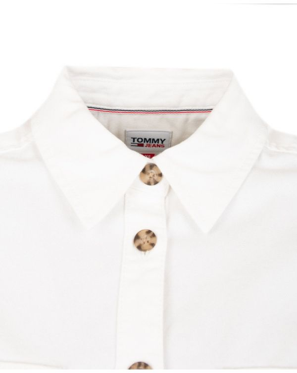 Badge Logo Cropped Utility Shirt