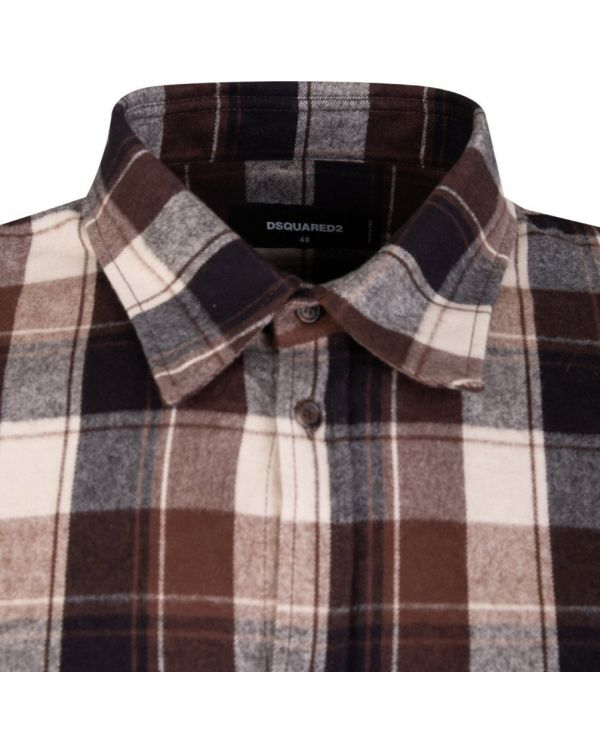 Flannel Checked Shirt