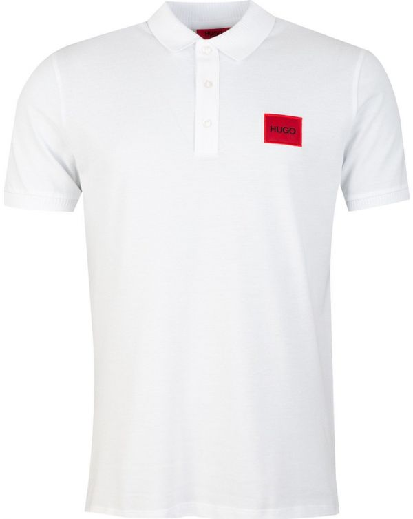 Dereso Red Patch Logo Polo Shirt