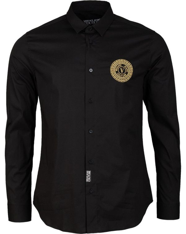 Embroidered Cricle Logo Shirt