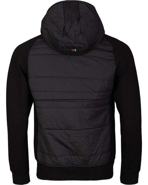 Ps Sports Stripe Nylon Mix Hooded Jacket