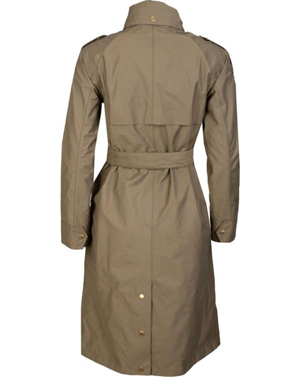 Qualify Trench Style Belted Jacket