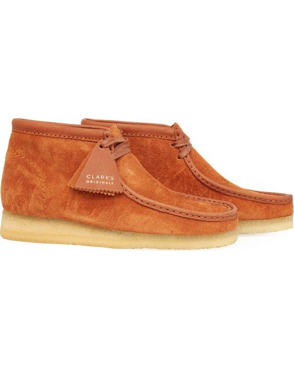 Suede Wallabee Boots