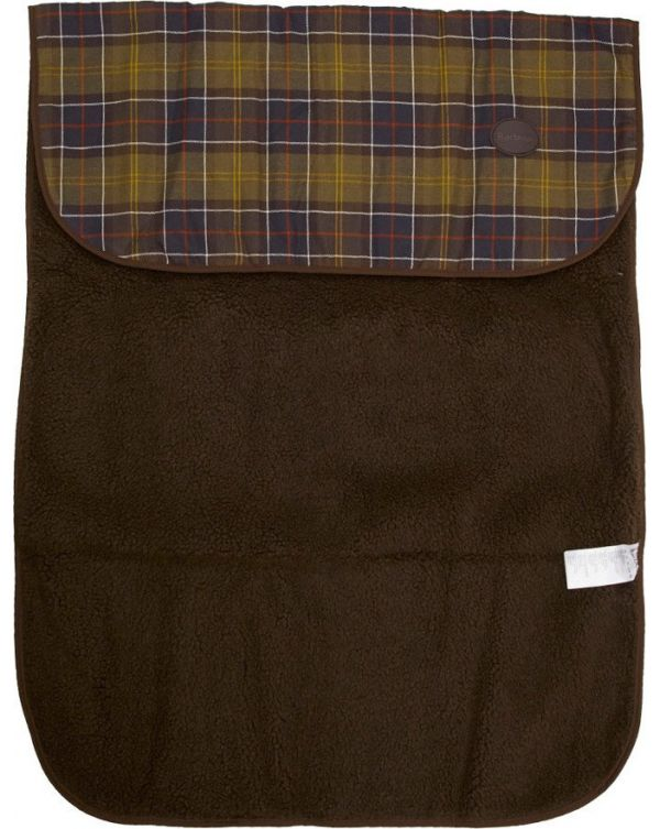 Tartan Fleece Dog Blanket
