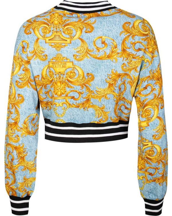Baroque Denim Sweat