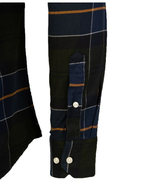 Lustleigh Tailored Fit Flannel Shirt