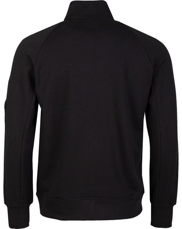 Arm Lens Quater Zip Sweat