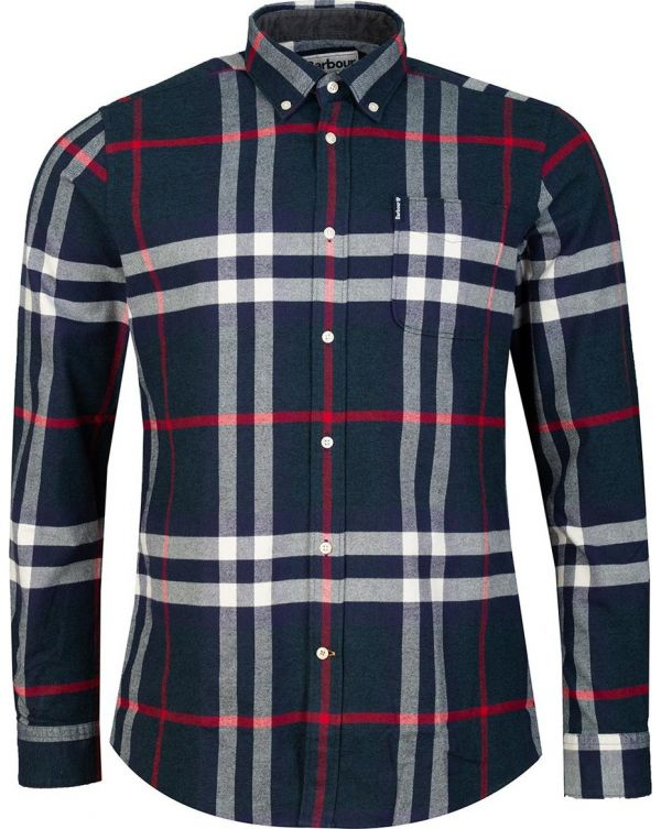 Highland Check 18 Tailored Flannel Shirt