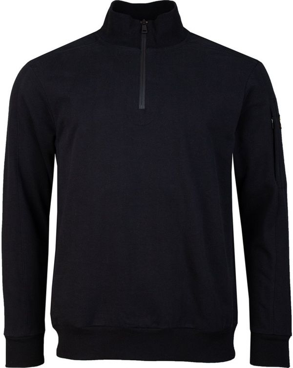 Arm Logo Quater Zip Sweatshirt