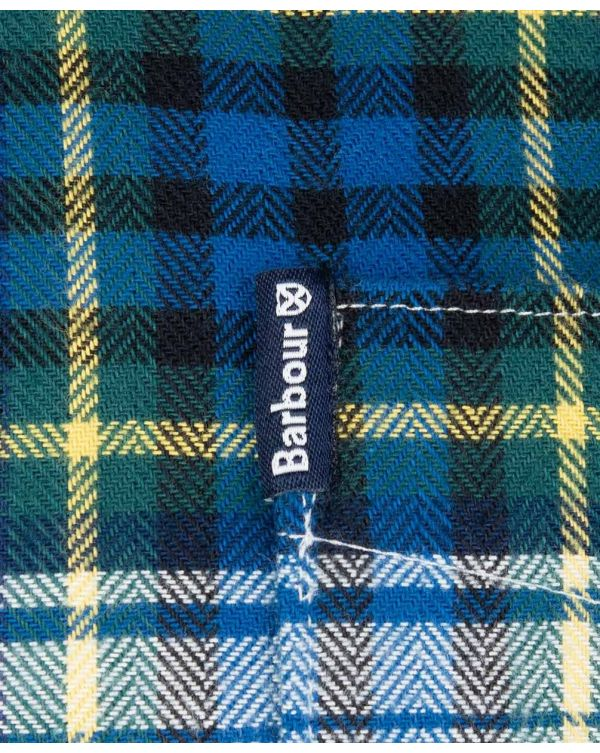 Highland Check 34 Tailored Flannel Shirt