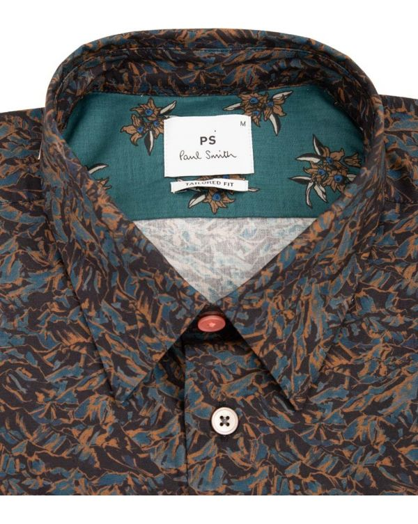 All Over Print Tailored Fit Shirt