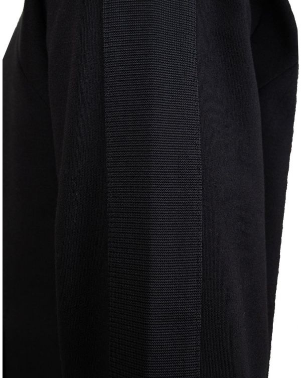 Tonal Funnel Neck Track Top
