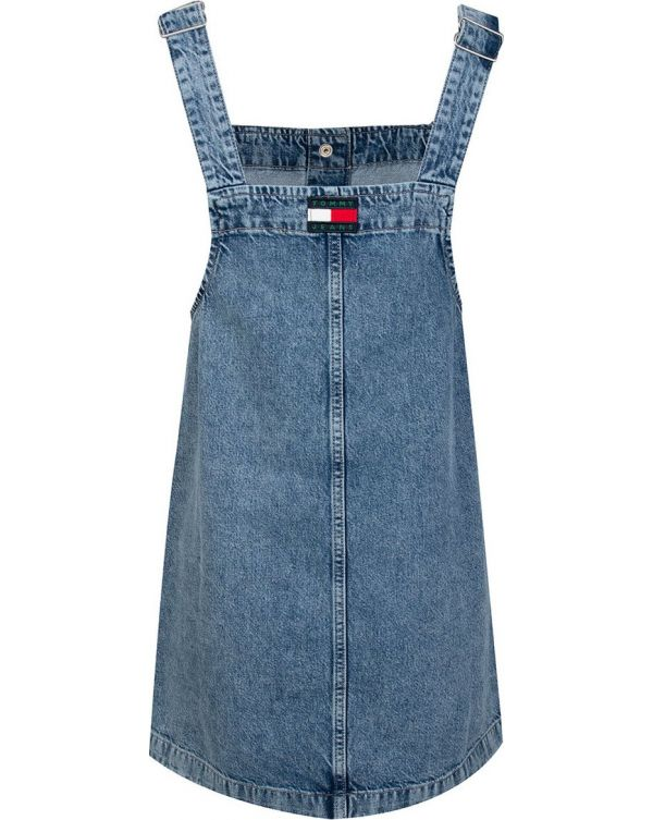 Short Dungaree Dress
