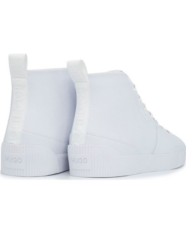 Zero Hito Leather High Top Trainers