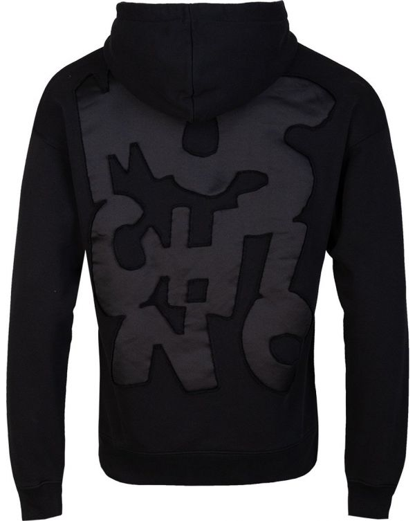 Patchwork Logo Pop Over Hoody