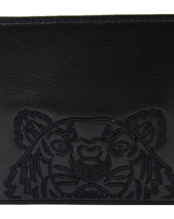 Icons Leather Tiger Wallet