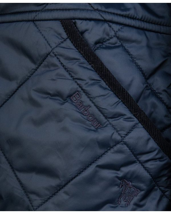 Peppergrass Longline Quilted Jacket