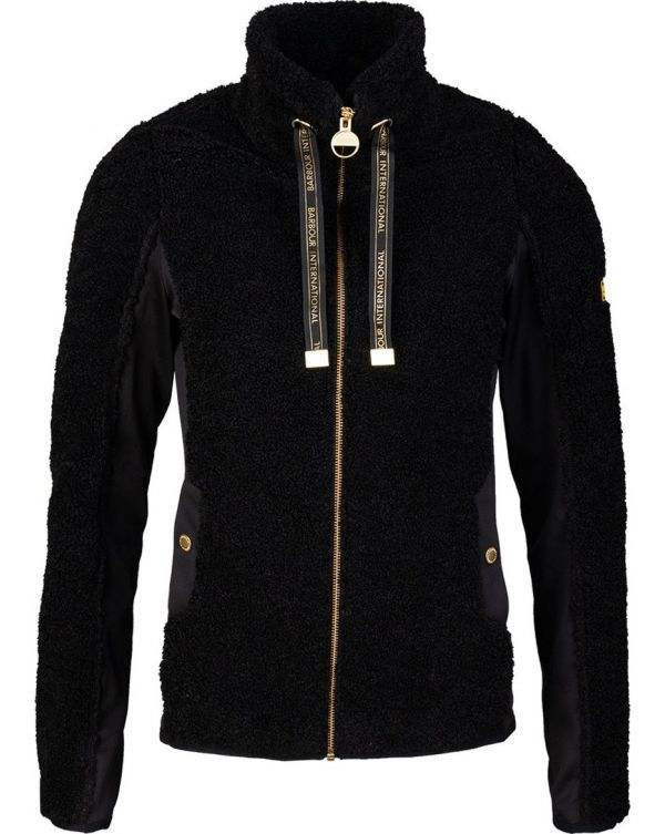Shearling Zip Through Sweat