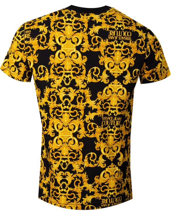All Over Baroque Print T-Shirt