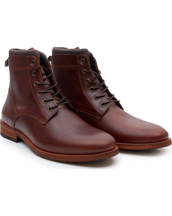 Backworth Derby Leather Boots