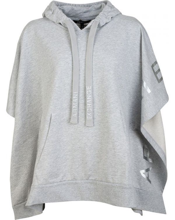 Pull Over Poncho Hoody