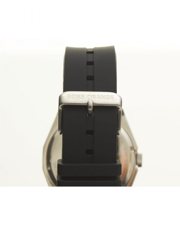 Rubber Strap Black Face Watch 1512897