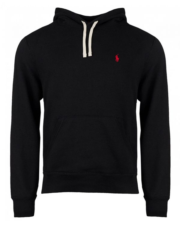Athletic Fleece Popover Hooded Top