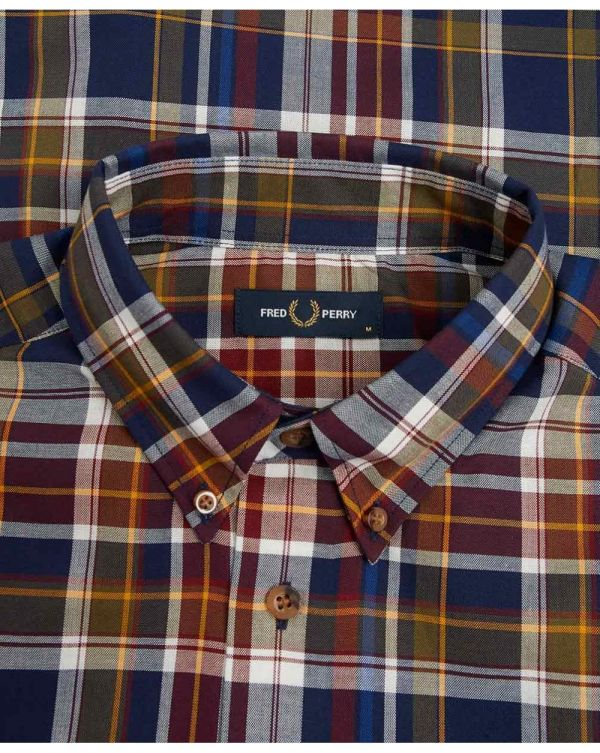 Tartan Long Sleeved Shirt
