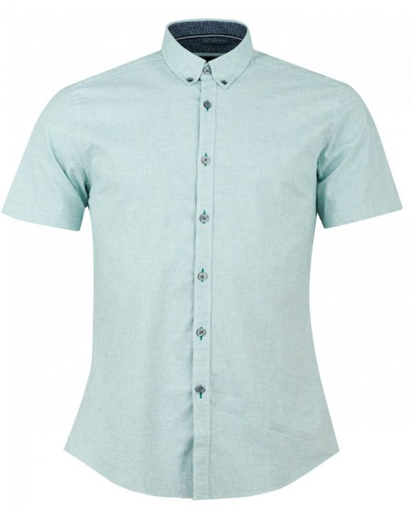 Short Sleeved Button Down Shirt